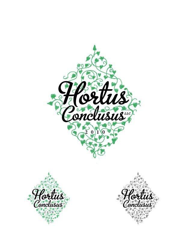 Logo Design, Hortus Conclusus